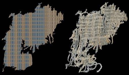Антропологи нашли самую древнюю синюю ткань