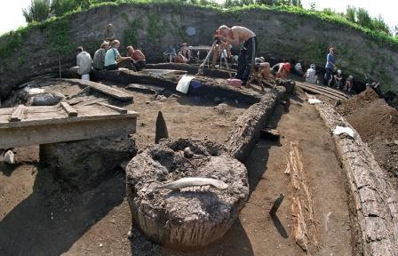 Археологи нашли в фанагории древнейший в россии античный храм