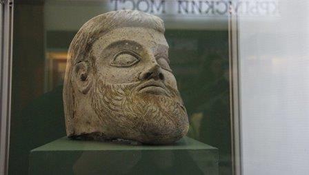 Археологи считают найденный в керчи фрагмент скульптуры большой редкостью