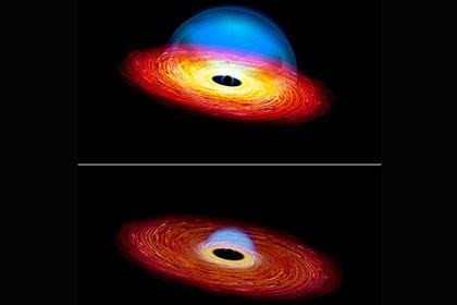 Астрофизики сообщили о выключающемся квазаре