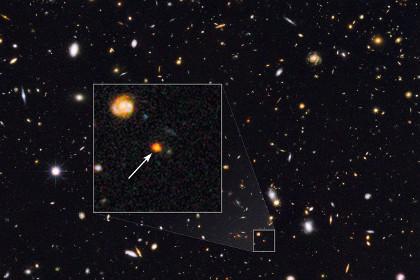 Астрофизики зафиксировали интенсивное зарождение звезд в молодой галактике