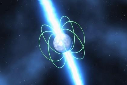 Астрономы измерили вращение пульсара