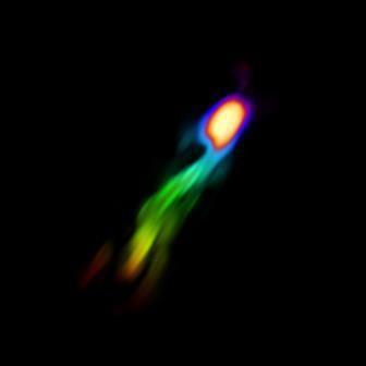 Астрономы наблюдали за оттоком газа из галактики