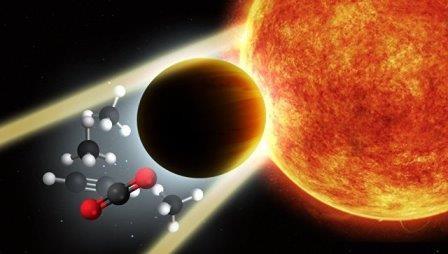Астрономы нашли планету с «титановыми» облаками в атмосфере