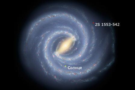 Астрономы нашли самую далекую нейтронную звезду в нашей галактике