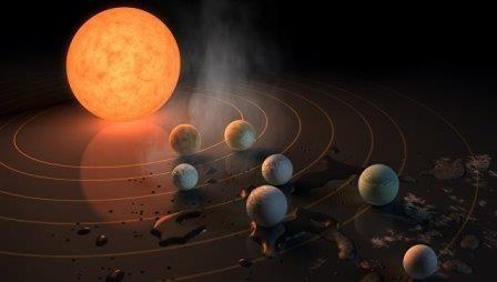 Астрономы нашли воду и воздух на ближайших «кузинах» земли