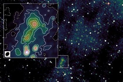 Астрономы обнаружили рядом с землей галактику-загадку