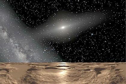 Астрономы описали орбиту гипотетической планеты солнечной системы