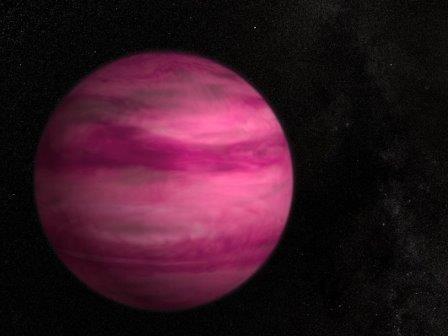 Астрономы получили изображение супер-юпитера