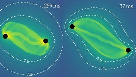 Астрономы раскрыли тайну рождения «нобелевских» гравитационных волн