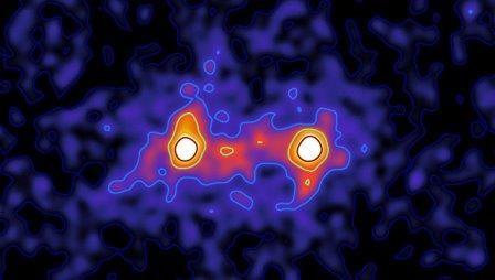 Астрономы впервые получили фотографии «нитей» темной материи