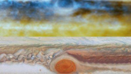 Астрономы впервые «попробовали на вкус» облака юпитера