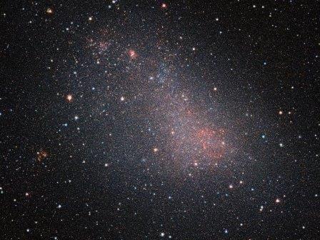 Астрономы заглянули внутрь малого магелланова облака