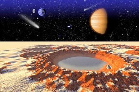 Атмосфера и метеориты древнего марса
