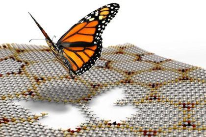 «Бабочка хофштадтера» помогла отключить проводимость графена