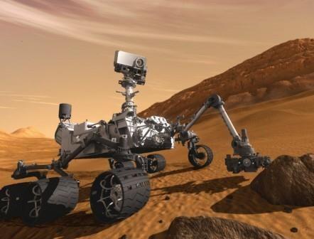 Curiosity достиг цели своей миссии на марсе