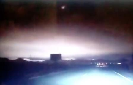 Диаметр взорвавшегося над хакасией метеорита был 10-15 метров
