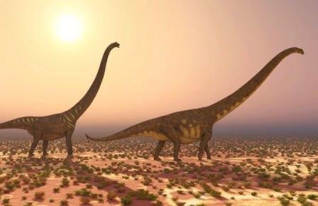 Динозавры спасались бегством из меловой европы