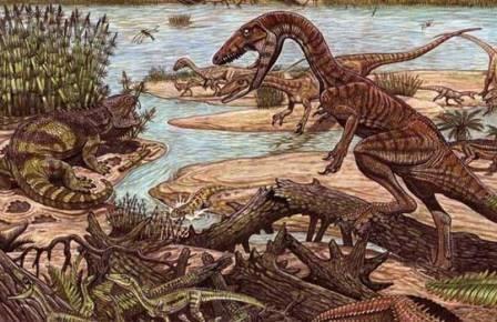 Динозавры завоевали мировое господство в честной борьбе