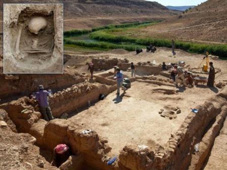 Древние люди пришли в европу морем
