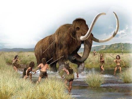 Древние жители крыма ели мамонтов и лошадей