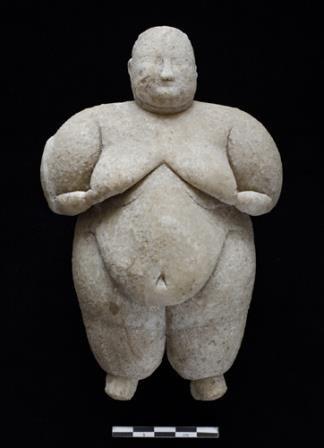 Фигурка женщины возрастом более 8000 тысяч лет найдена в турции