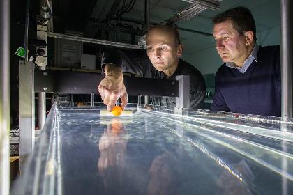 Физики научились перемещать объекты по воде при помощи волн