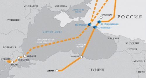 «Газпром» создаетсп сbotas для сооружения «турецкого потока» - «энергетика»