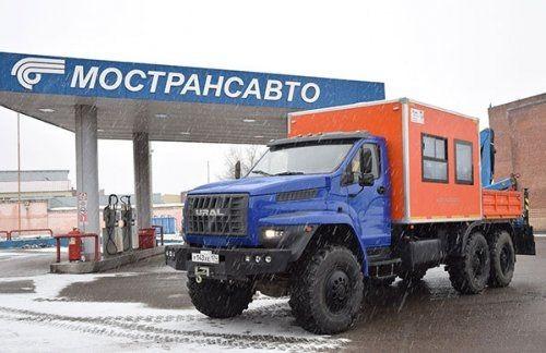 Группа газ передала автомобиль «урал next» для работы в домодедово - «новости челябинска»