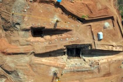 Исследования в двухтысячелетнем мавзолее китайского правителя