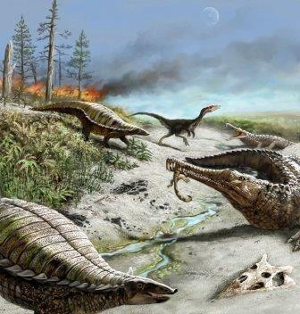 Изменение климата мешало крупным динозаврам жить в тропиках