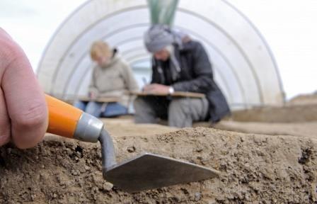 Израильские археологи нашли камень-огниво, возраст которого составляет 9 тыс. лет