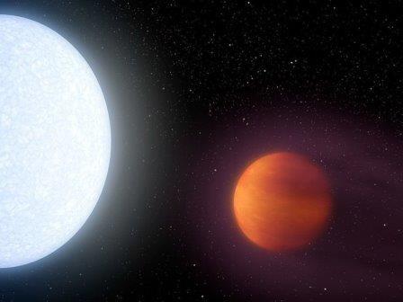 Экзопланета kelt-9b оказалась горячее многих звезд