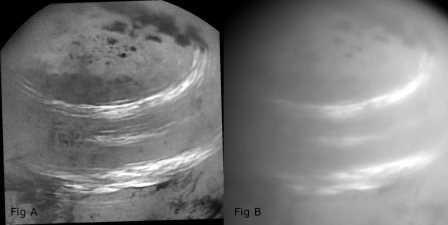 «Кассини» показала метановые облака титана