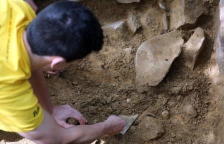 Китайские археологи обнаружили стоянку древних людей на северо-западе страны