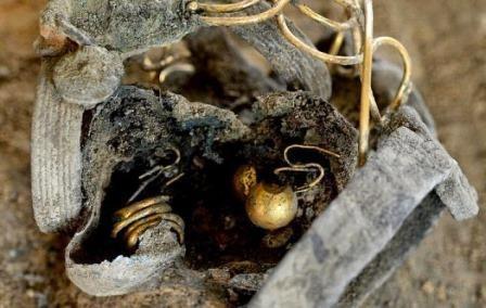 Клад времен римской империи нашли под главной улицей колчестера