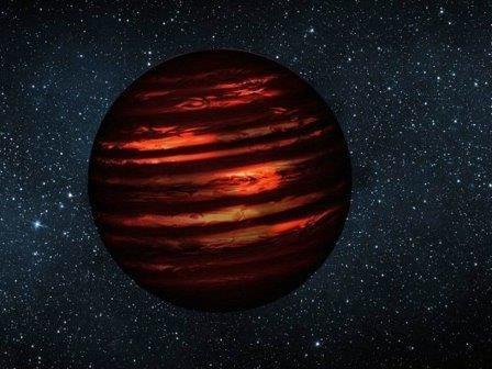 Коричневый карлик оказался гигантской планетой