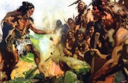 Люди зажгли первые костры 350 тысяч лет назад