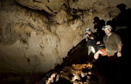 Мексиканские археологи исследовали древний грот в мехико
