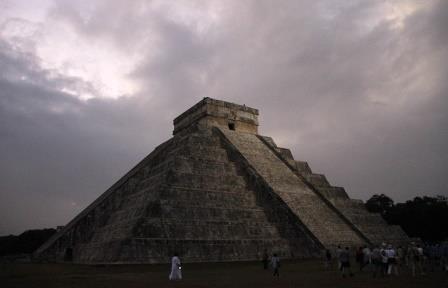 Мексиканские ученые обнаружили пирамиду внутри пирамиды в священном городе майя