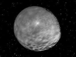 Межпланетная станция dawn получила самые четкие изображения цереры