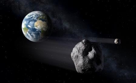Мимо земли пролетел астероид 2014 hl129