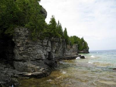 На дне озера гурон найдены древние сооружения