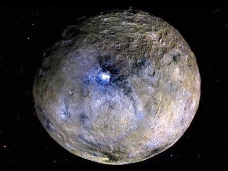 На карликовой планете церера когда-то имелся океан