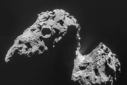 На комете чурюмова — герасименко нашли ингредиенты для создания жизни