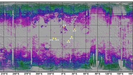 На луне может постоянно формироваться вода