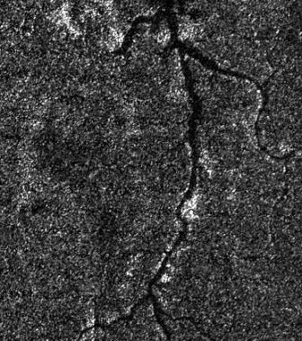 На титане обнаружили затопленные каньоны