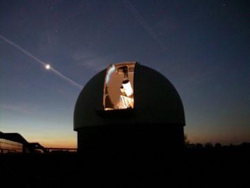 Наблюдения за звёздным небом в октябре 2014 года