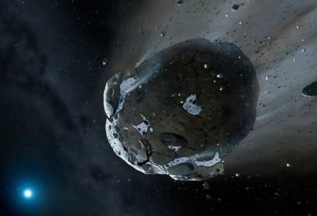 Найдено доказательство астероидного происхождения воды на земле
