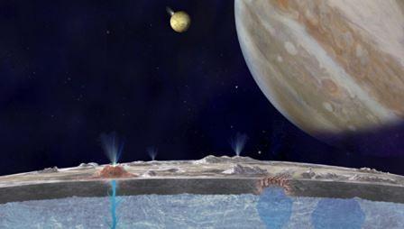 Наса обнаружило гейзеры на европе, спутнике юпитера